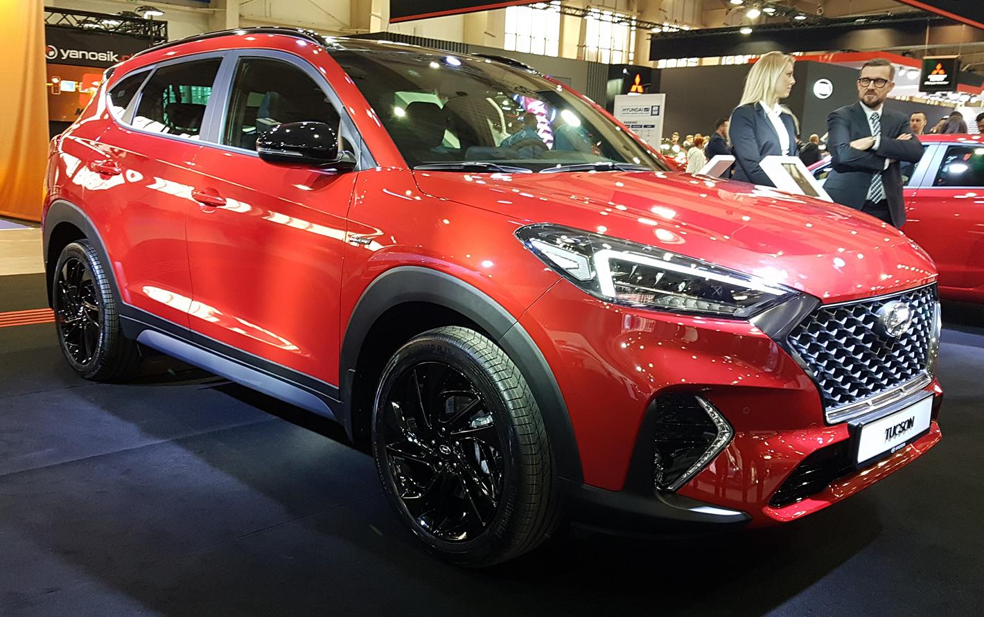 Poznań Motor Show 2019 - Hyundai Tucson N Line