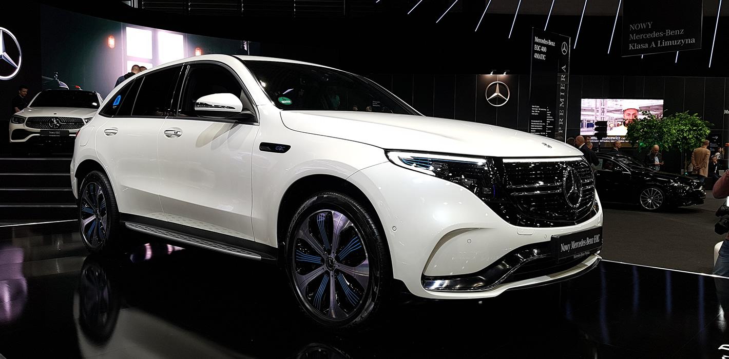 Poznań Motor Show 2019 - Mercedes-Benz EQC