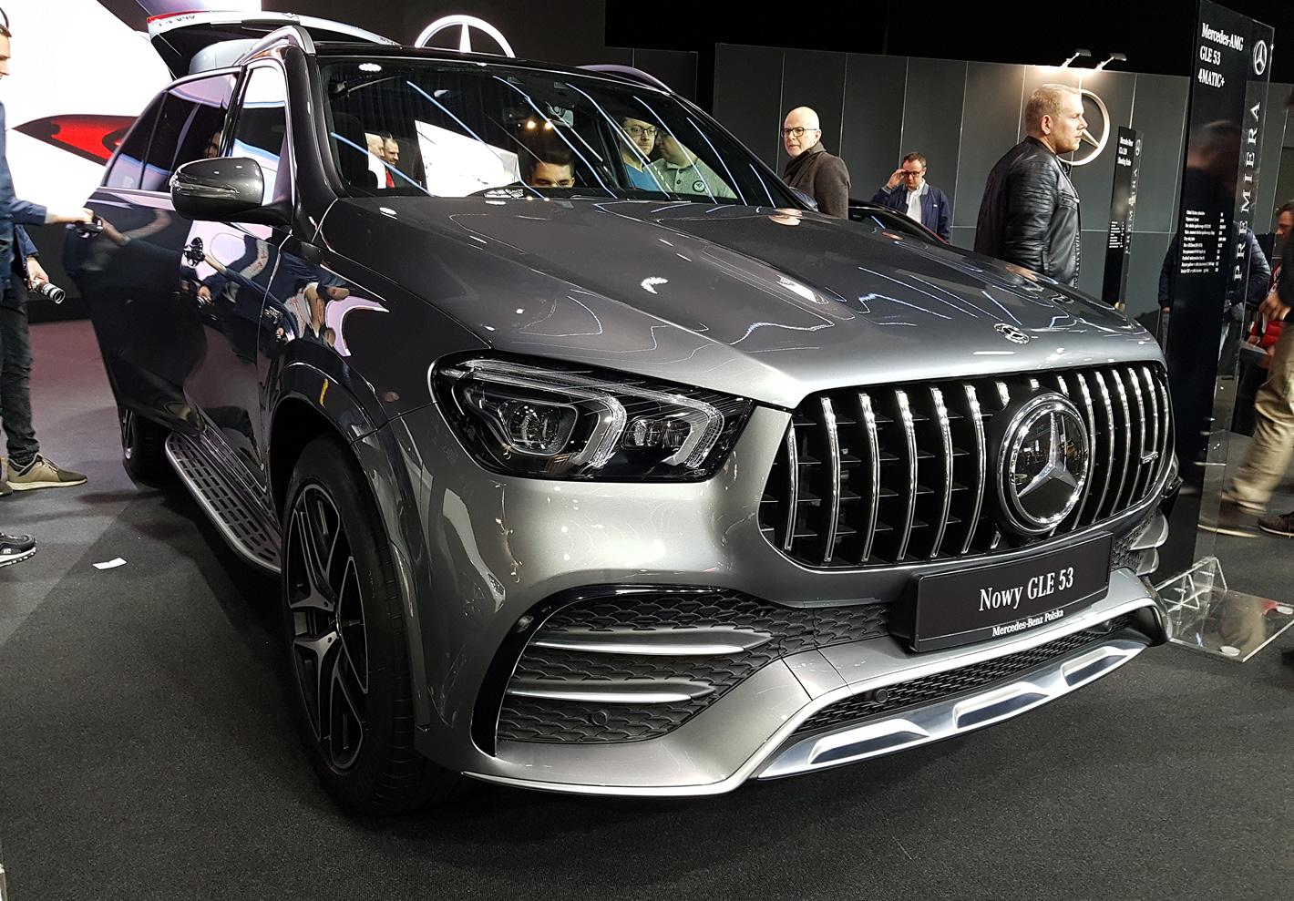 Poznań Motor Show 2019 - Mercedes-Benz GLE