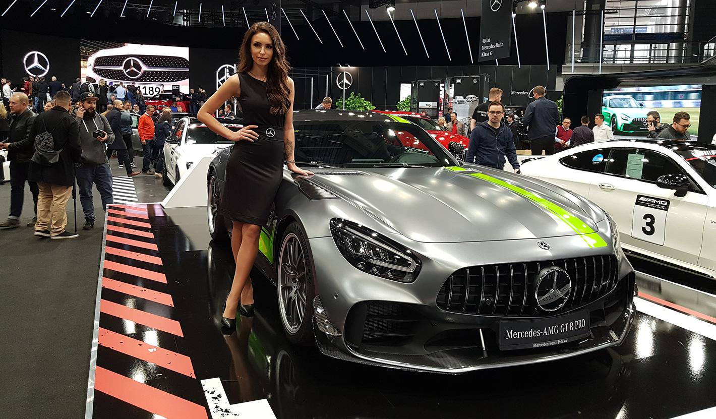 Poznań Motor Show 2019 - Mercedes-AMG GT R Pro