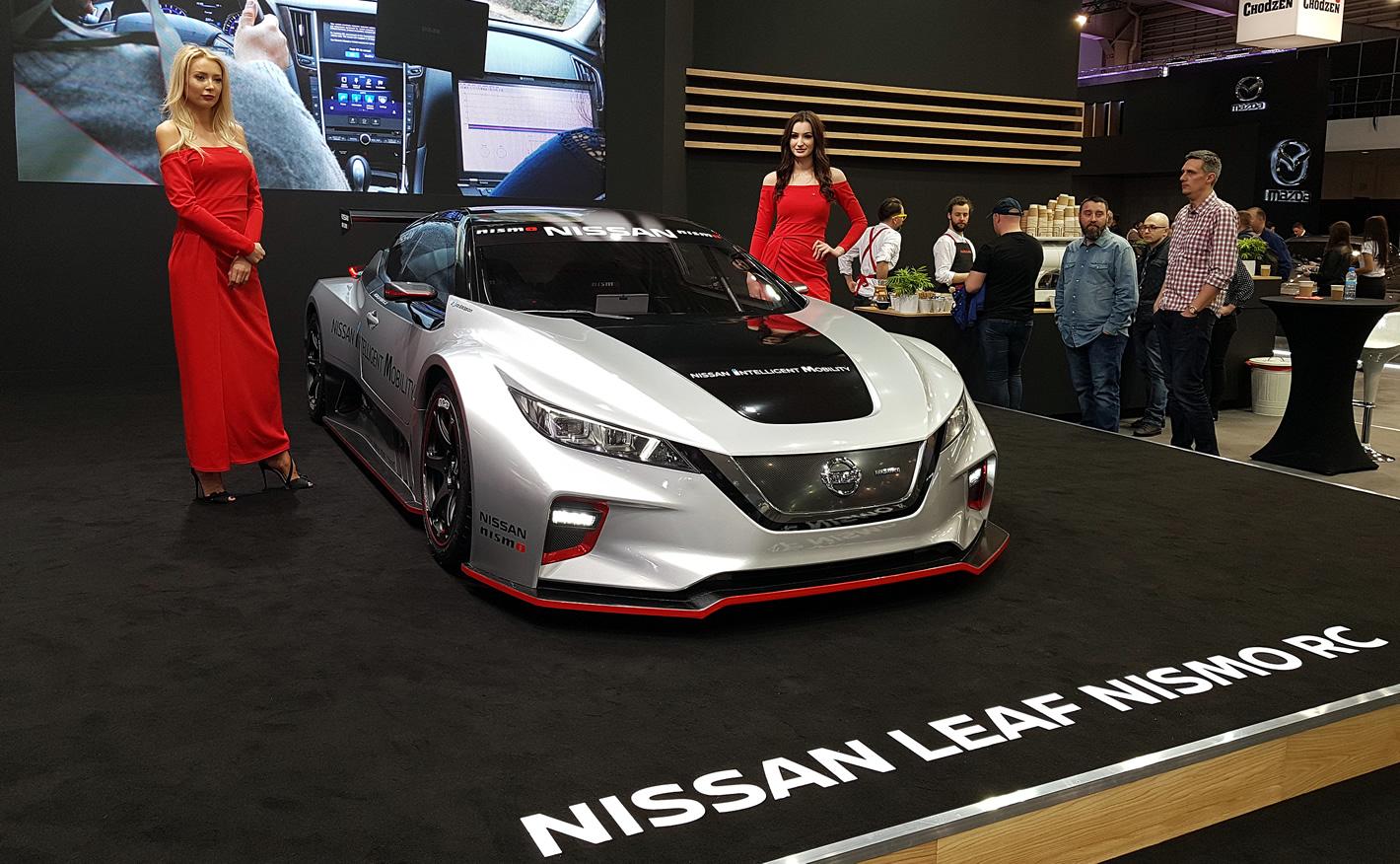 Poznań Motor Show 2019 - Nissan Leaf Nismo RC