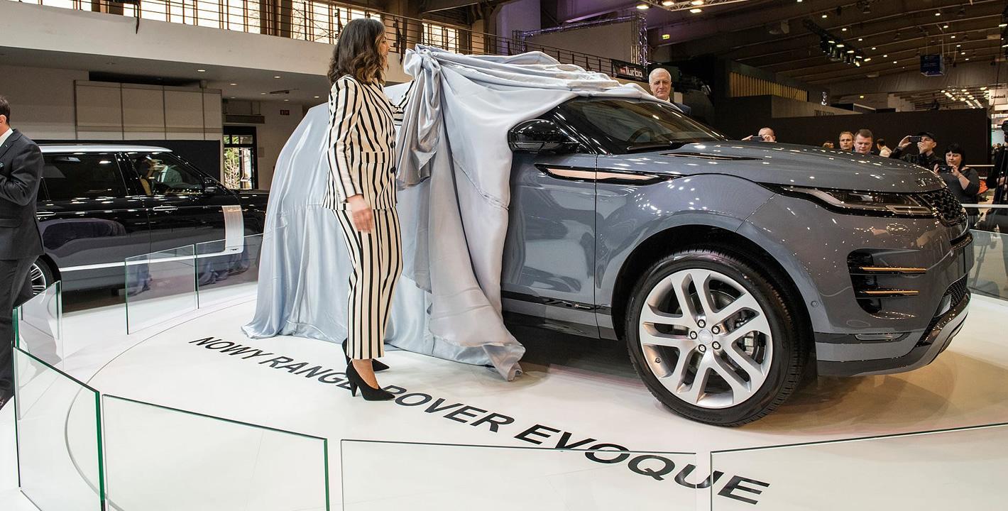 Poznań Motor Show 2019 - Range Rover Evoque