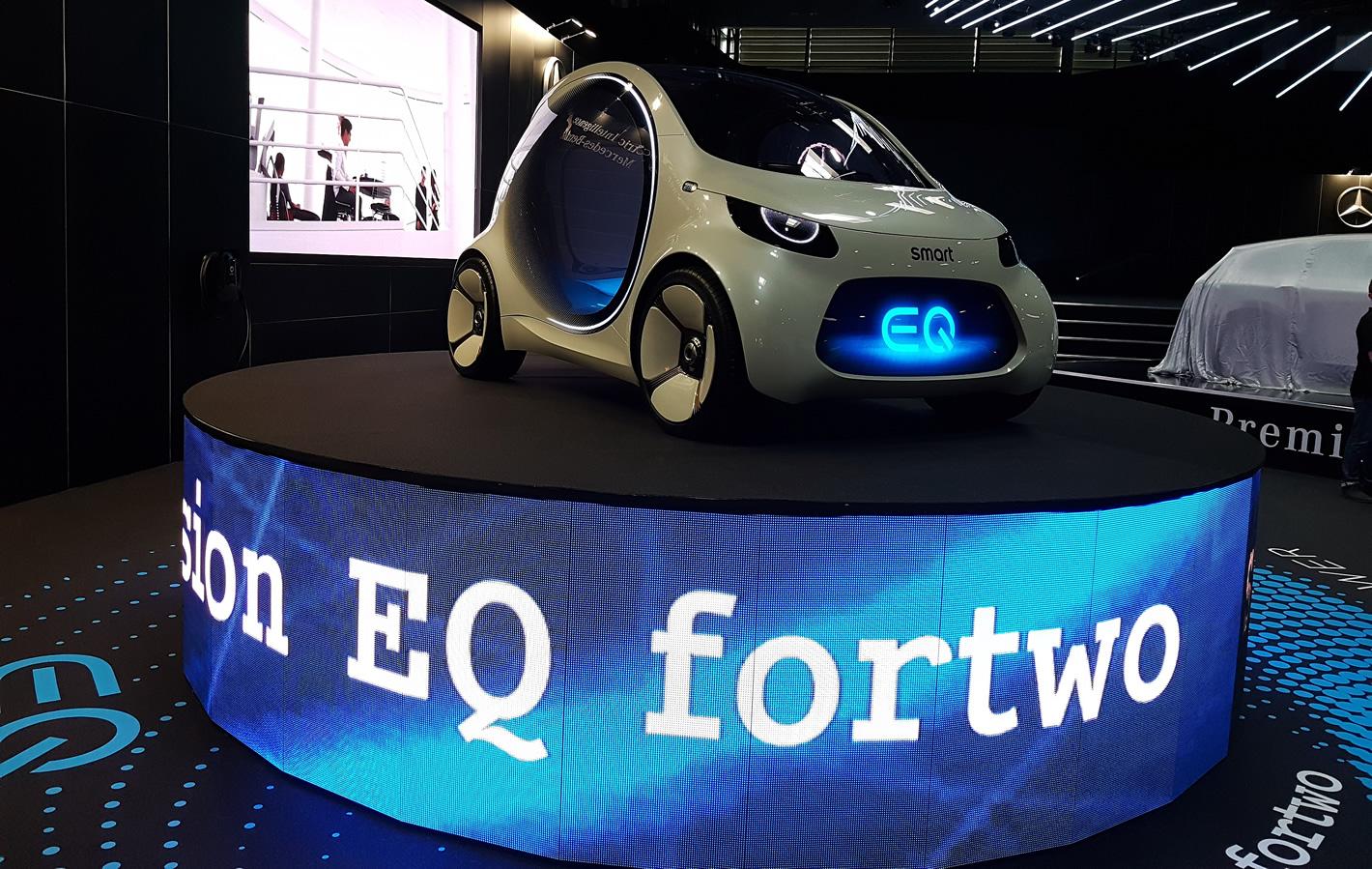 Poznań Motor Show 2019 - smart EQ fortwo