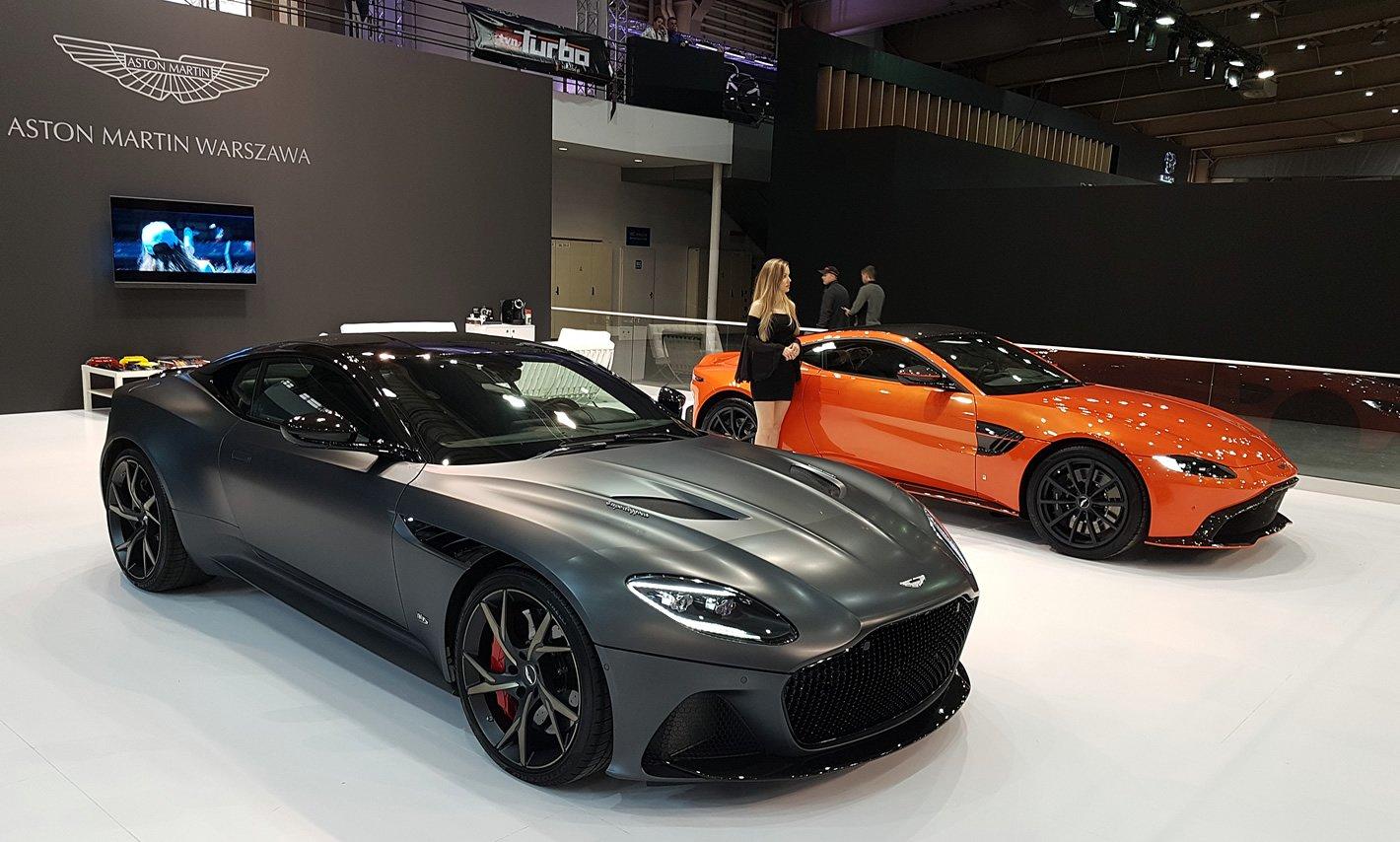Poznań Motor Show 2019 - Aston Martin