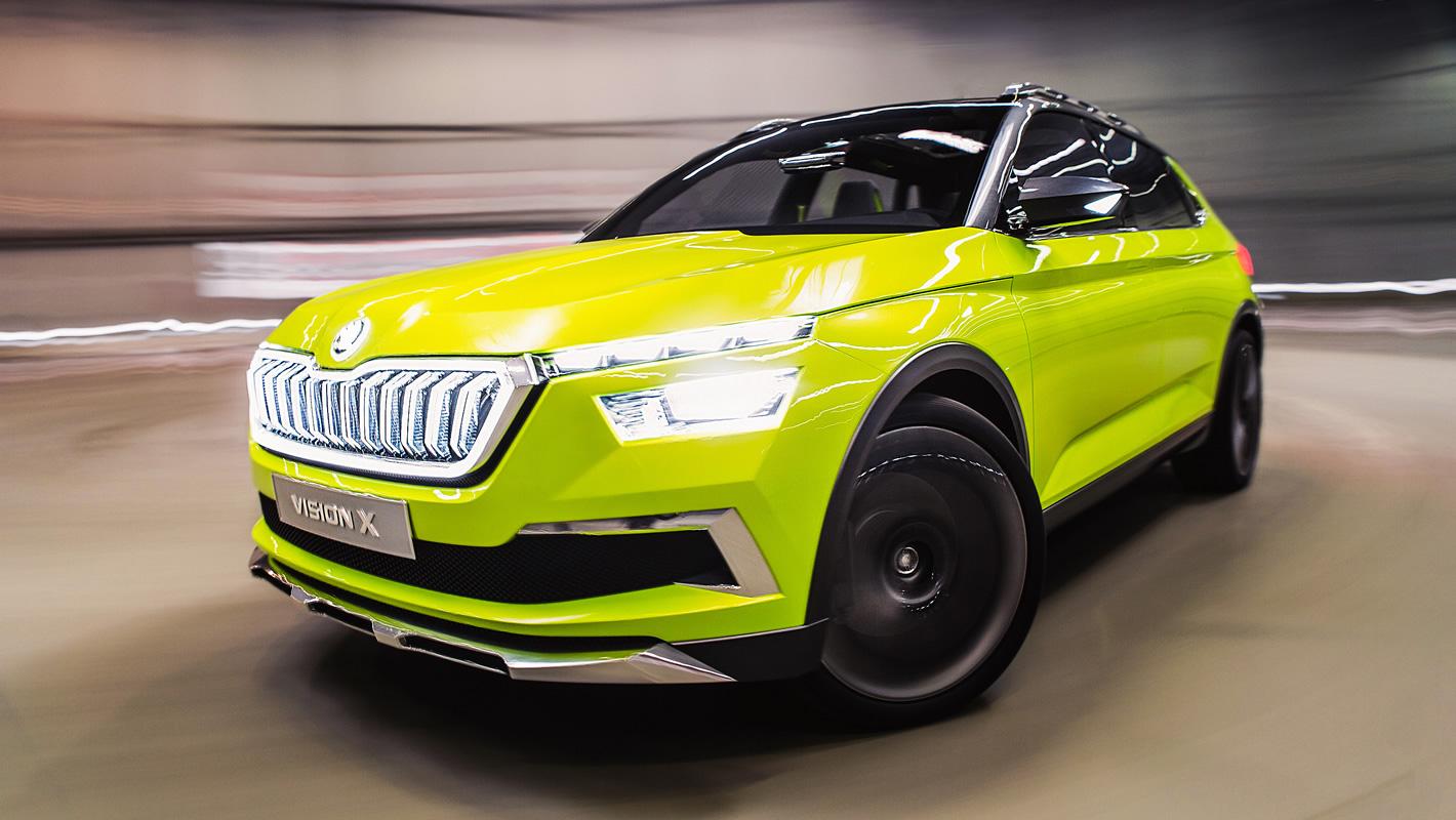 Poznań Motor Show 2019 - Skoda Vision X