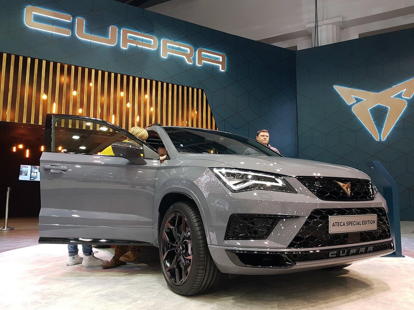 Poznań Motor Show 2019 - Cupra Ateca