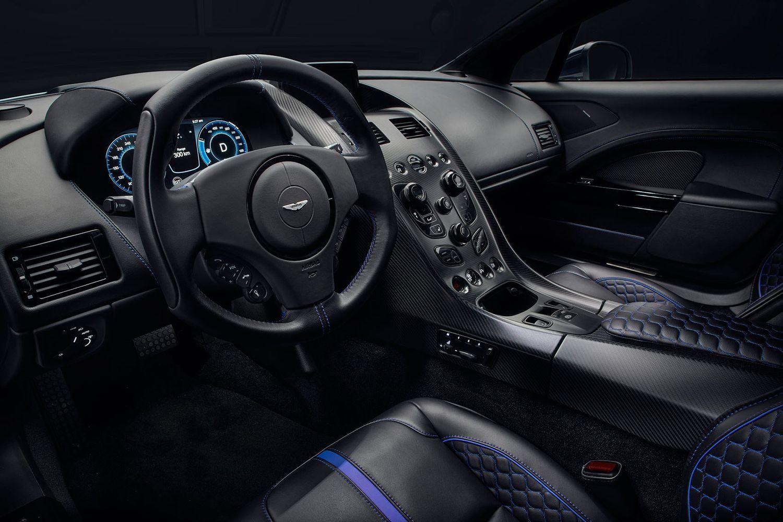 Aston Martin Rapide E kokpit