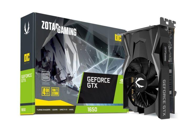 Zotac GeForce GTX 1650 4 GB