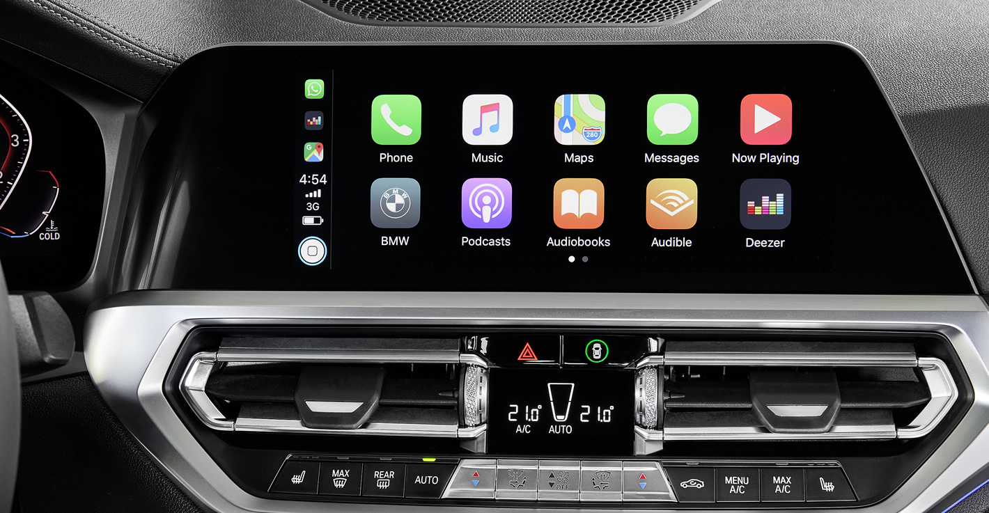 BMW System Operacyjny 7.0 Live Cockpit z Apple CarPlay