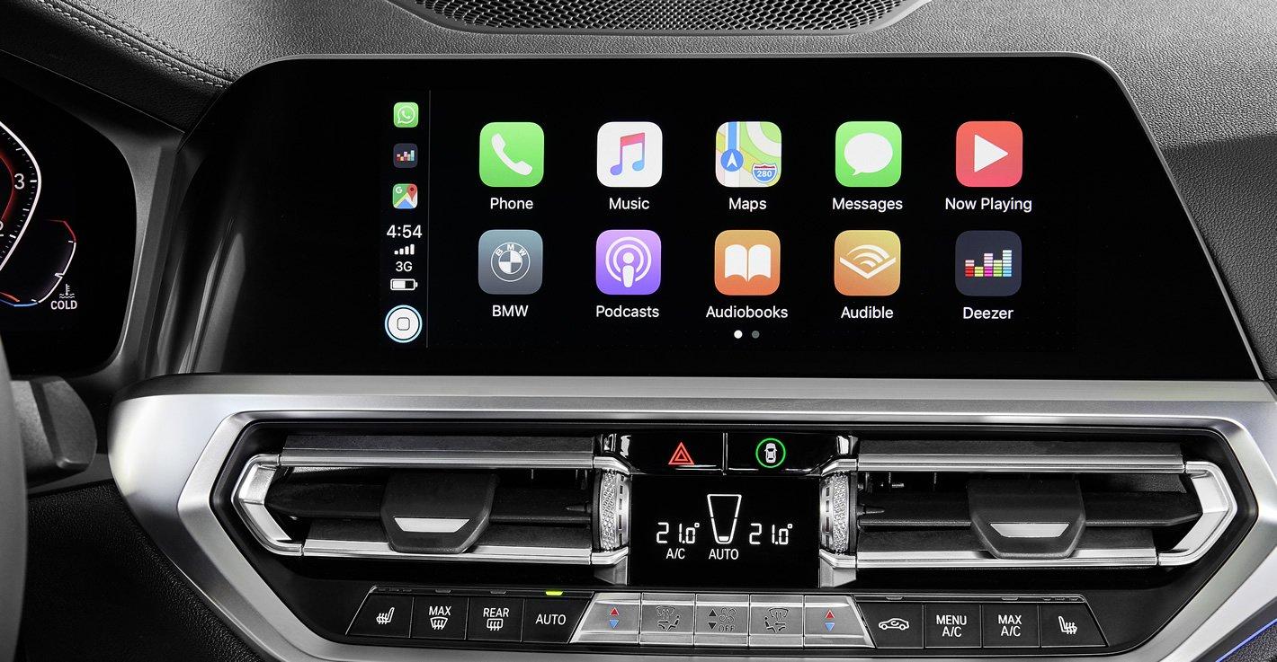 BMW System Operacyjny 7.0 Live Cockpit z Apple CarPlay