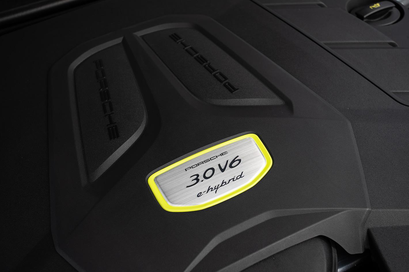 Porsche Cayenne E-Hybrid - silnik 3.0 V6