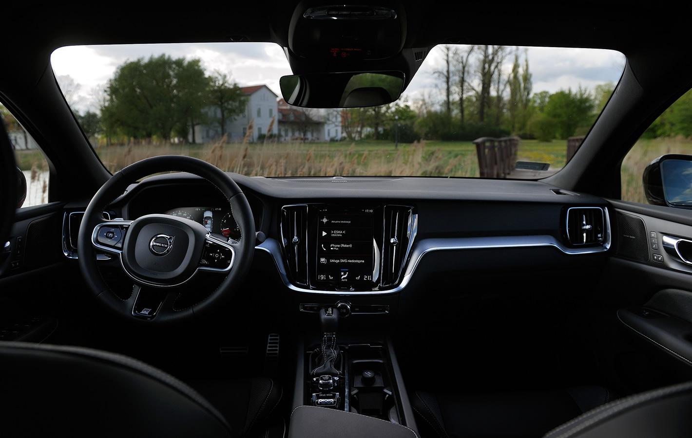 Volvo S60 - w środku