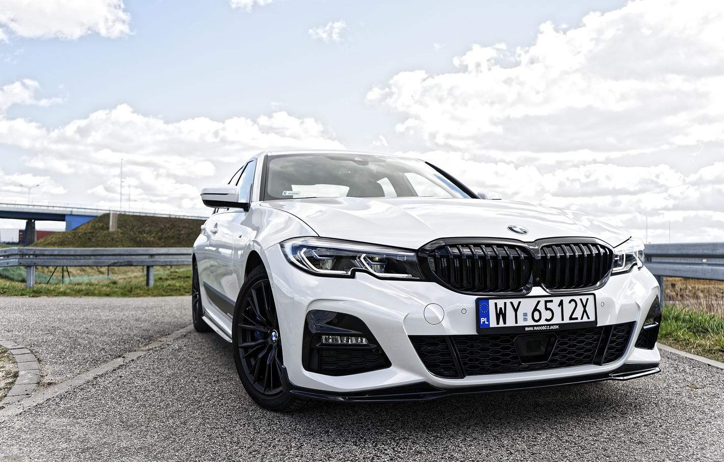 BMW 320d xDrive - jazda próbna