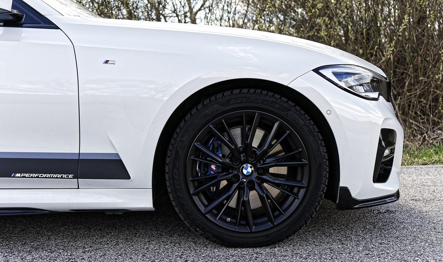 BMW 320d xDrive - zawieszenie