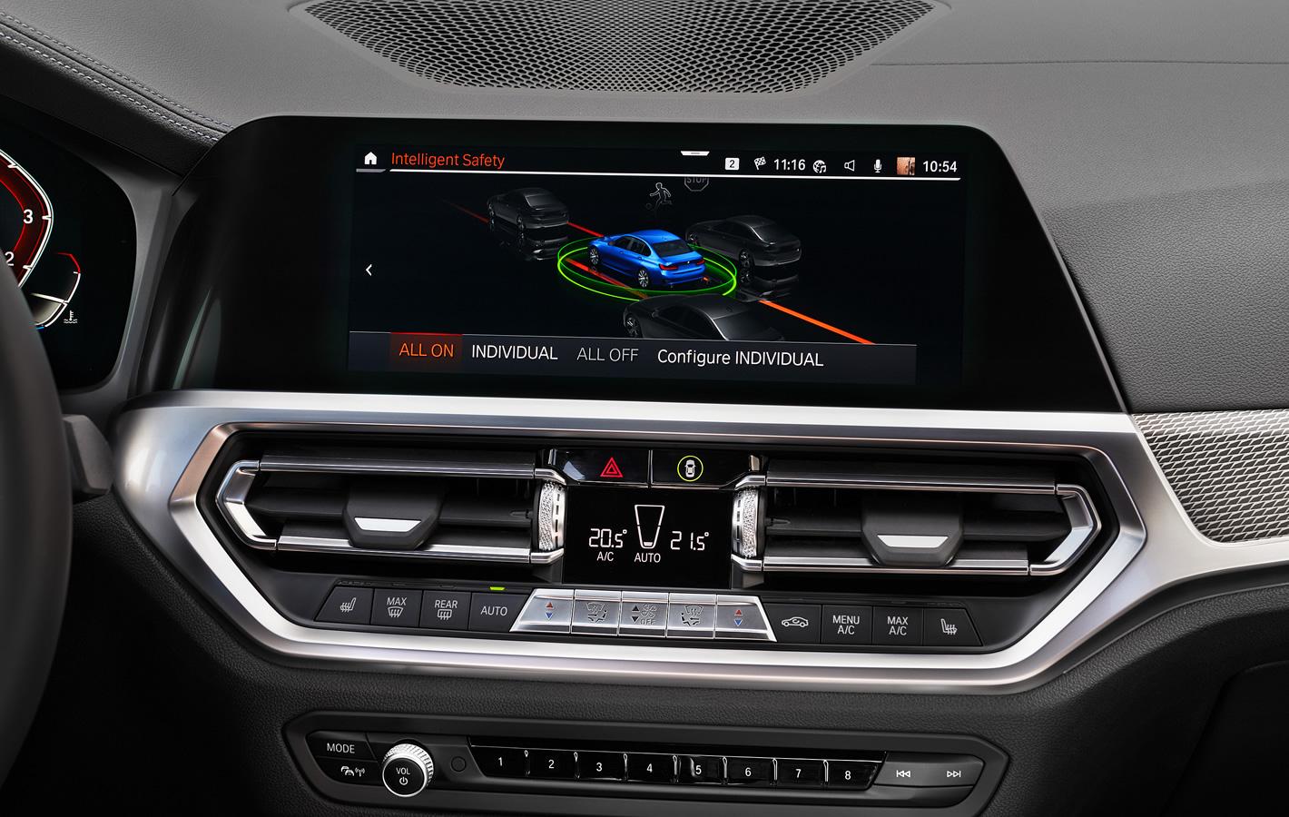 BMW 320d xDrive - systemy bezpieczeństwa i wsparcia kierowcy