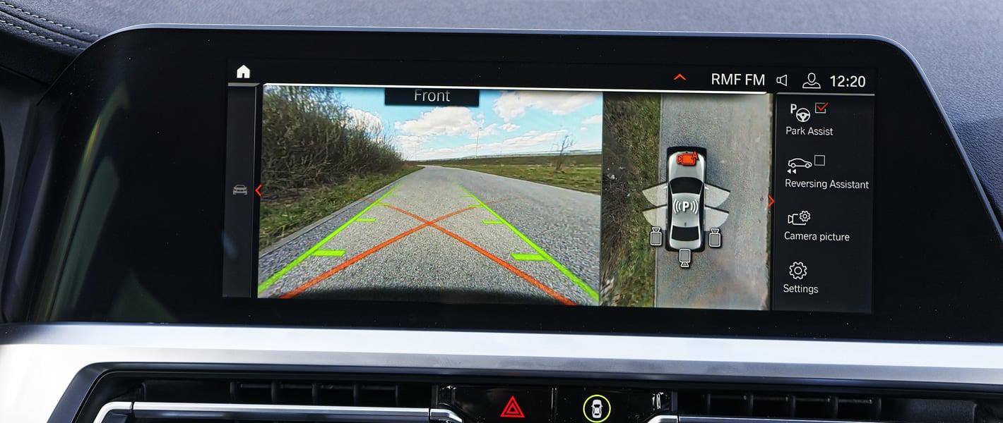 BMW 320d xDrive - kamera 360 stopni