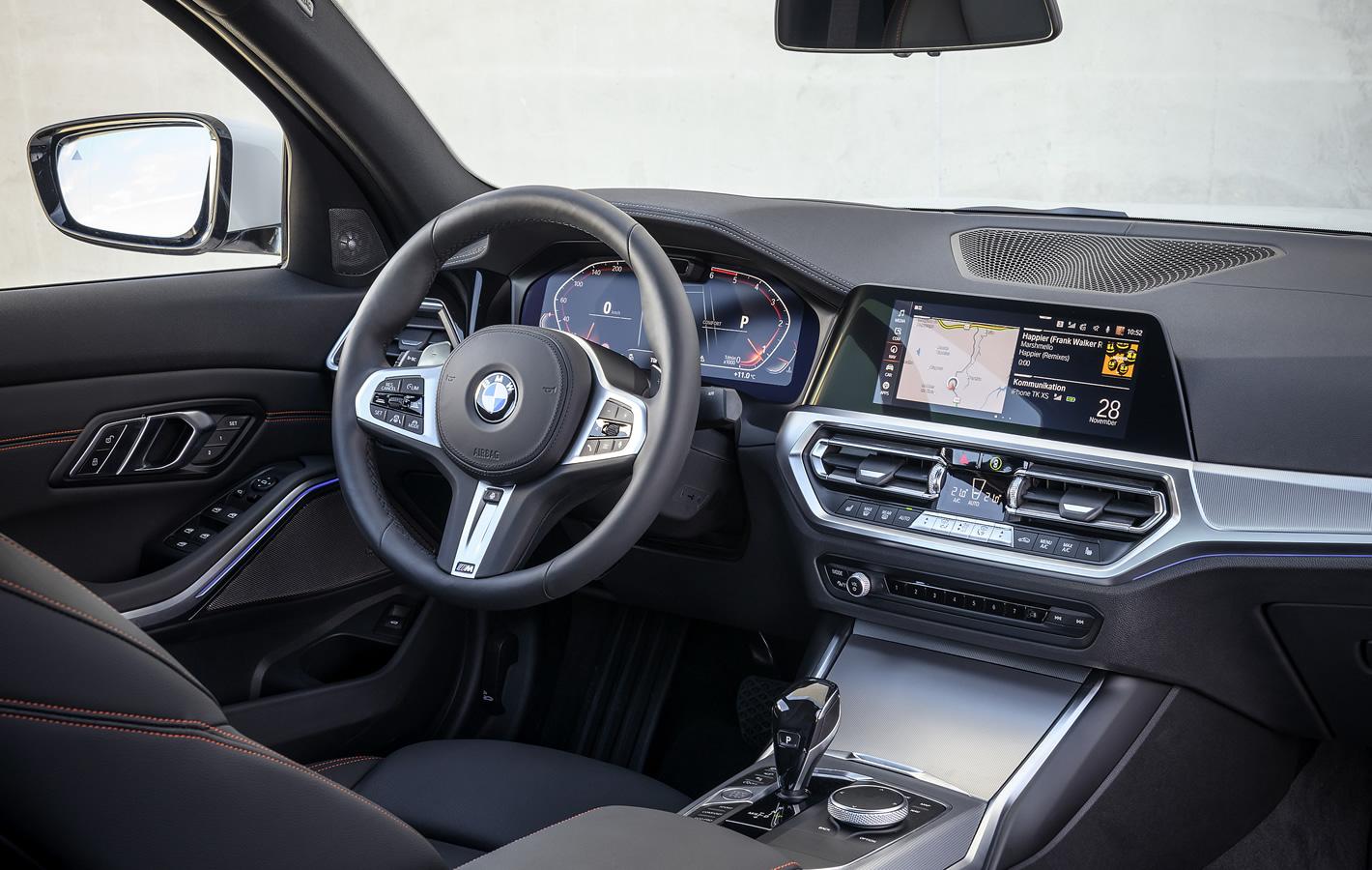 BMW 320d xDrive - kokpit