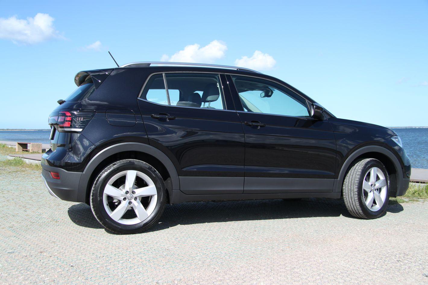 Volkswagen T-Cross bok