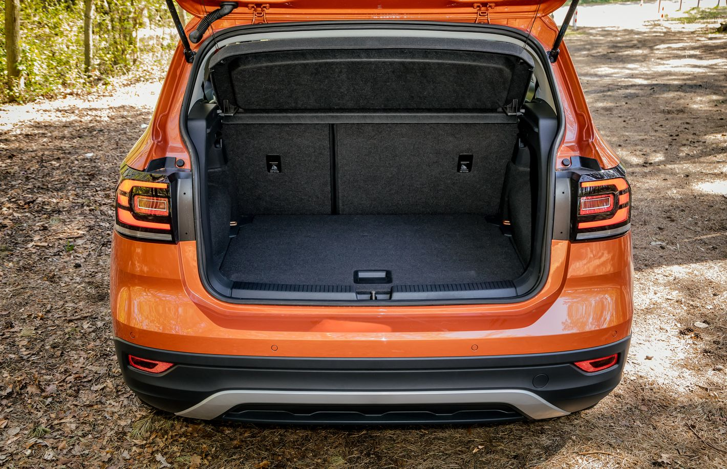 Volkswagen T-Cross bagażnik