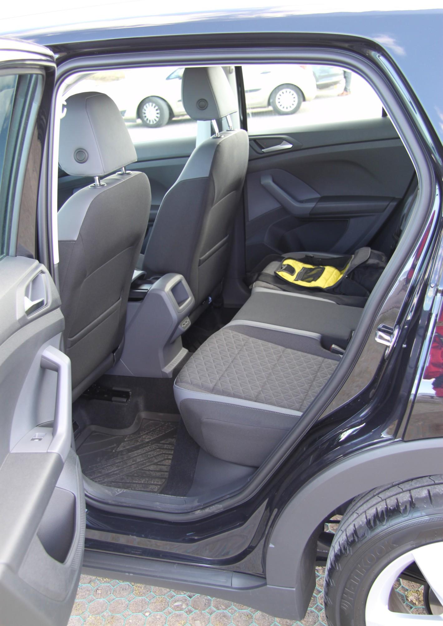 Volkswagen T-Cross tylna kanapa