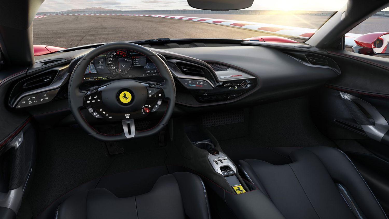 Ferrari SF90 Stradale wnętrze interior