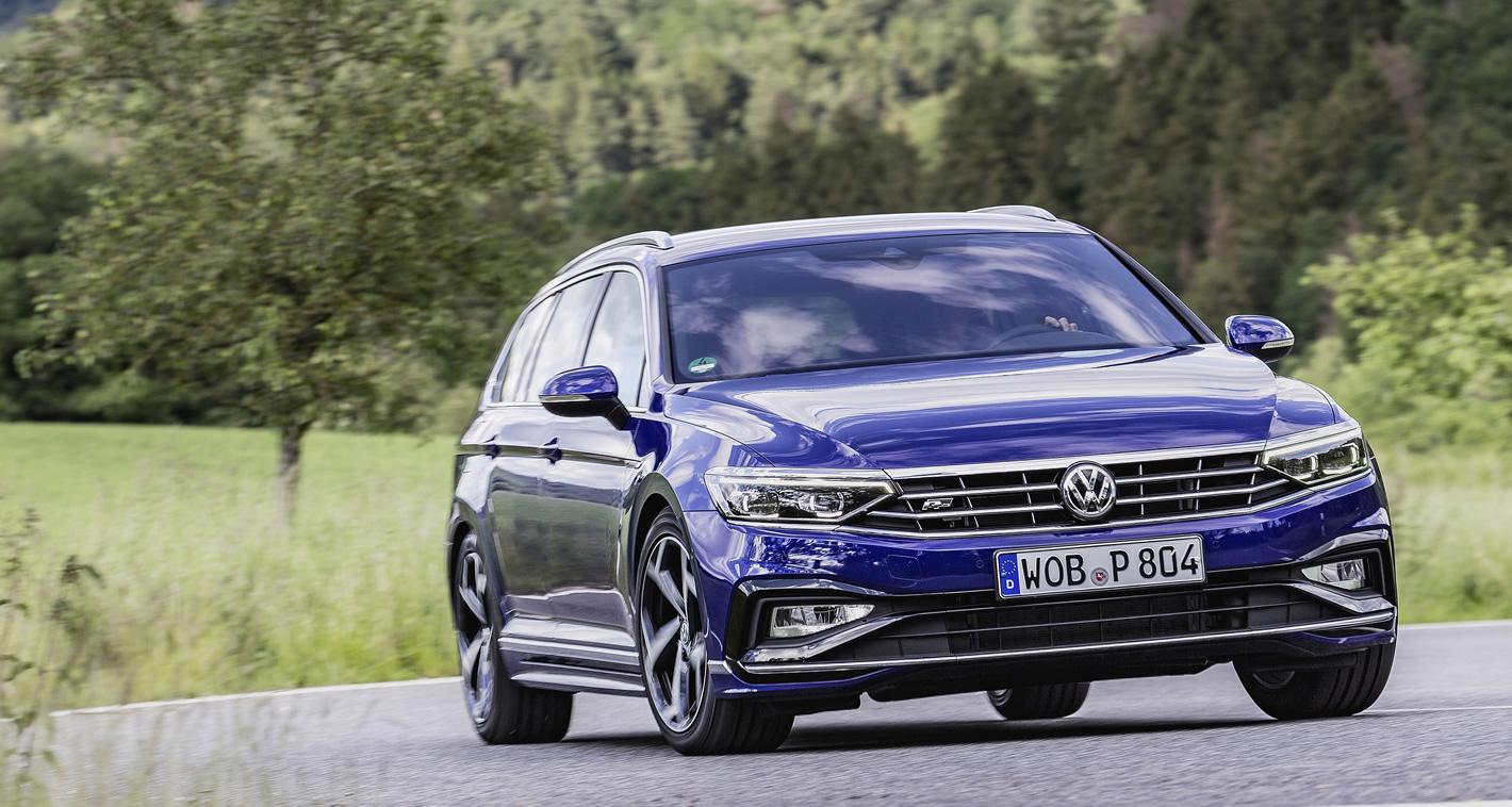 Nowy Volkswagen Passat - prowadzenie