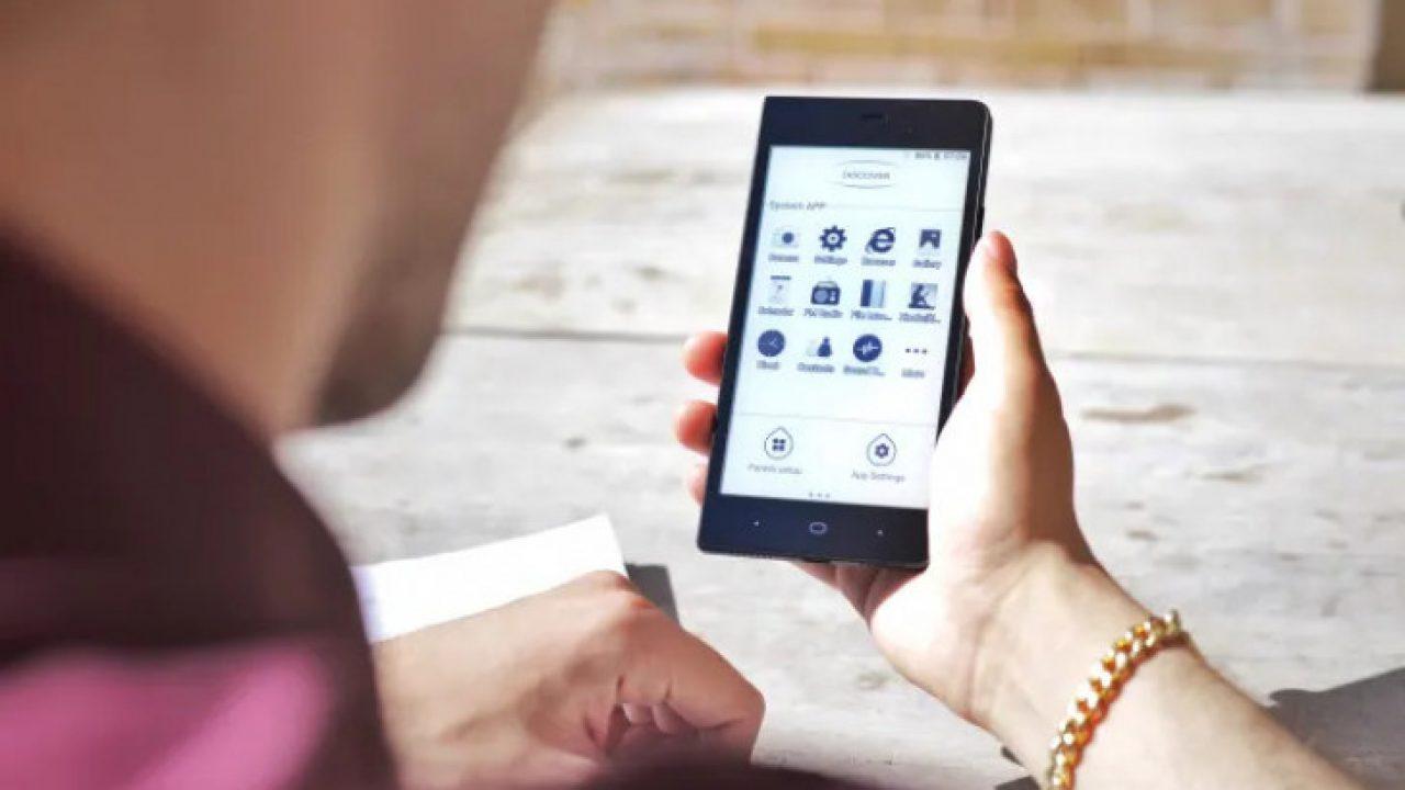 smartfon z eink