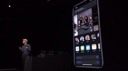 Apple iOS 13 sharing