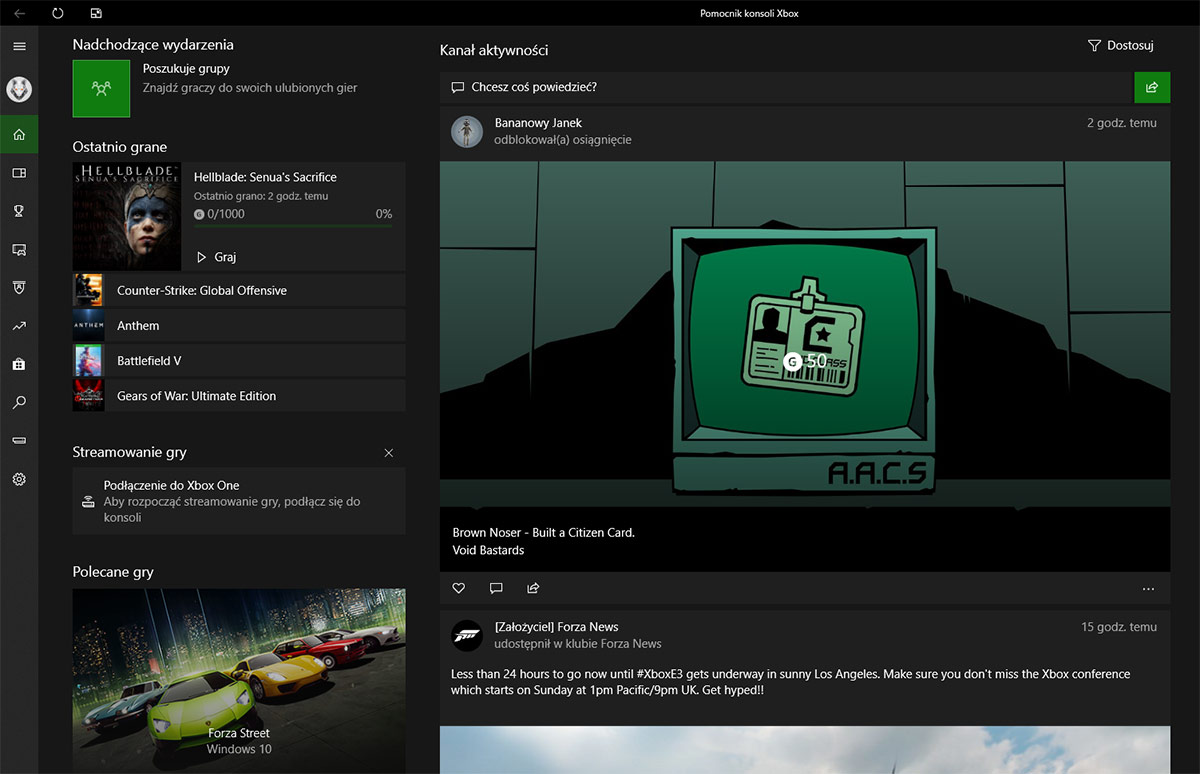 Xbox Game Pass for PC - Aplikacja Windows 10