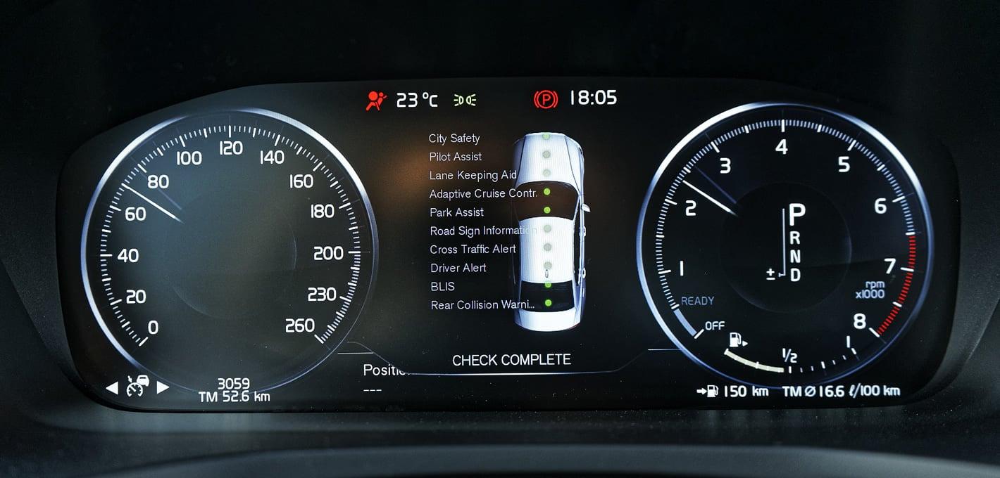Volvo S60 T5 - pakiet systemów bezpieczeństwa
