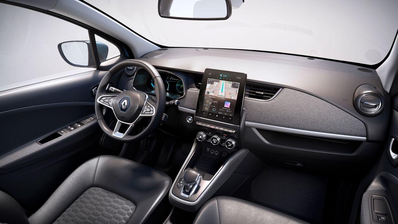 Renault Zoe R135 wnętrze