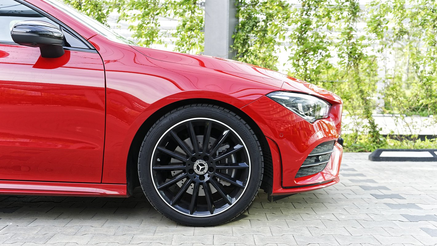 Mercedes-Benz CLA 220 4Matic - hamulce