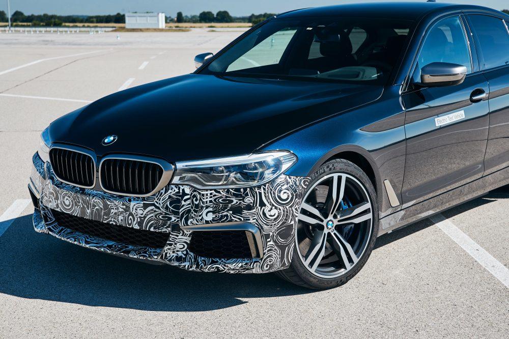 concept elektrycznego BMW serii 5