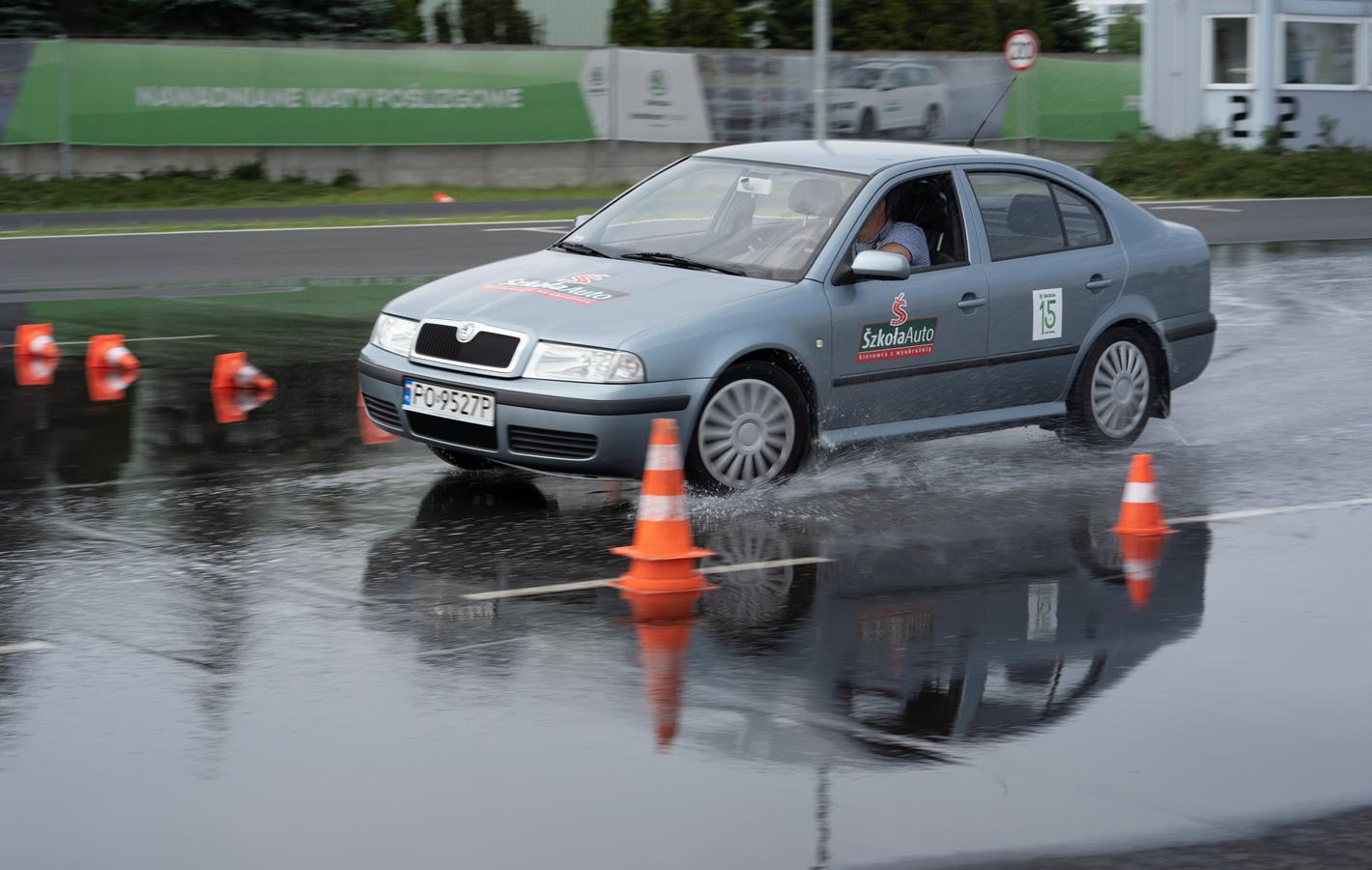 Skoda Auto Safety Skoda Octavia test łosia