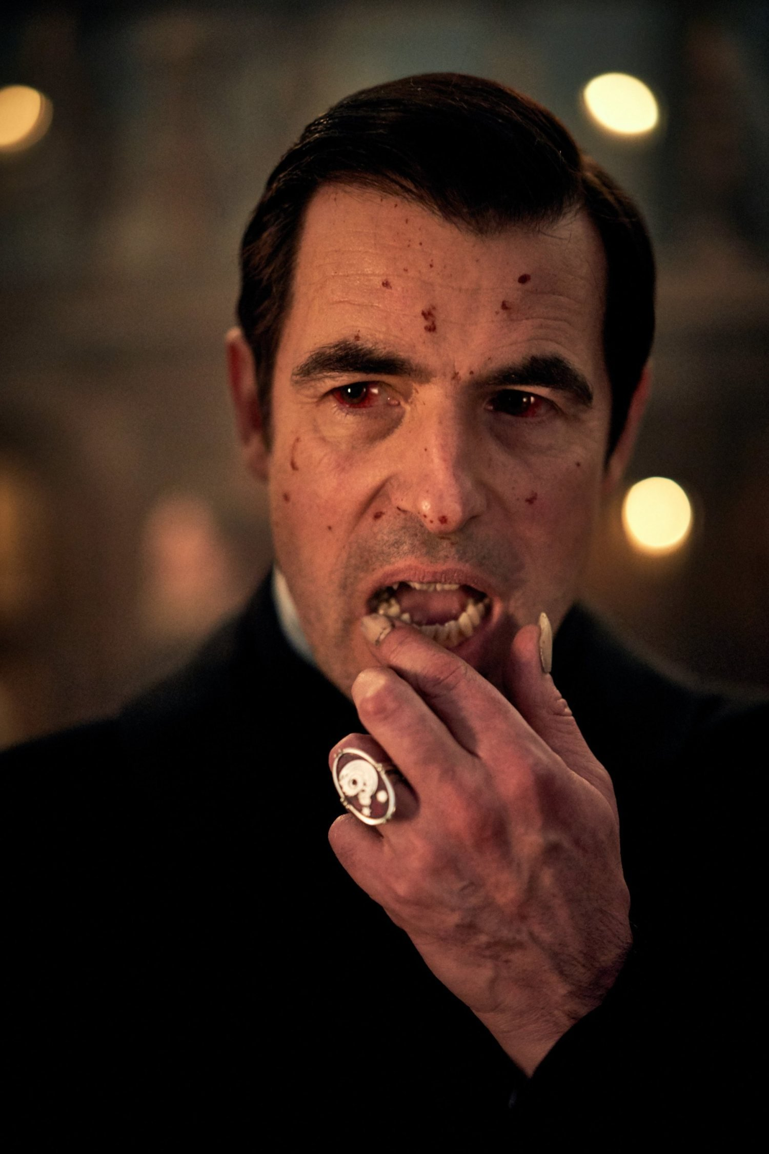 WARNING: Embargoed for publication until 00:00:01 on 05/07/2019 - Programme Name: Dracula - TX: n/a - Episode: n/a (No. n/a) - Picture Shows: **STRICTLY EMBARGOED UNTIL 00:01 HRS ON FRIDAY 5TH JULY** Dracula (CLAES BANG) - (C) Hartswood Films - Photographer: Robert Viglasky