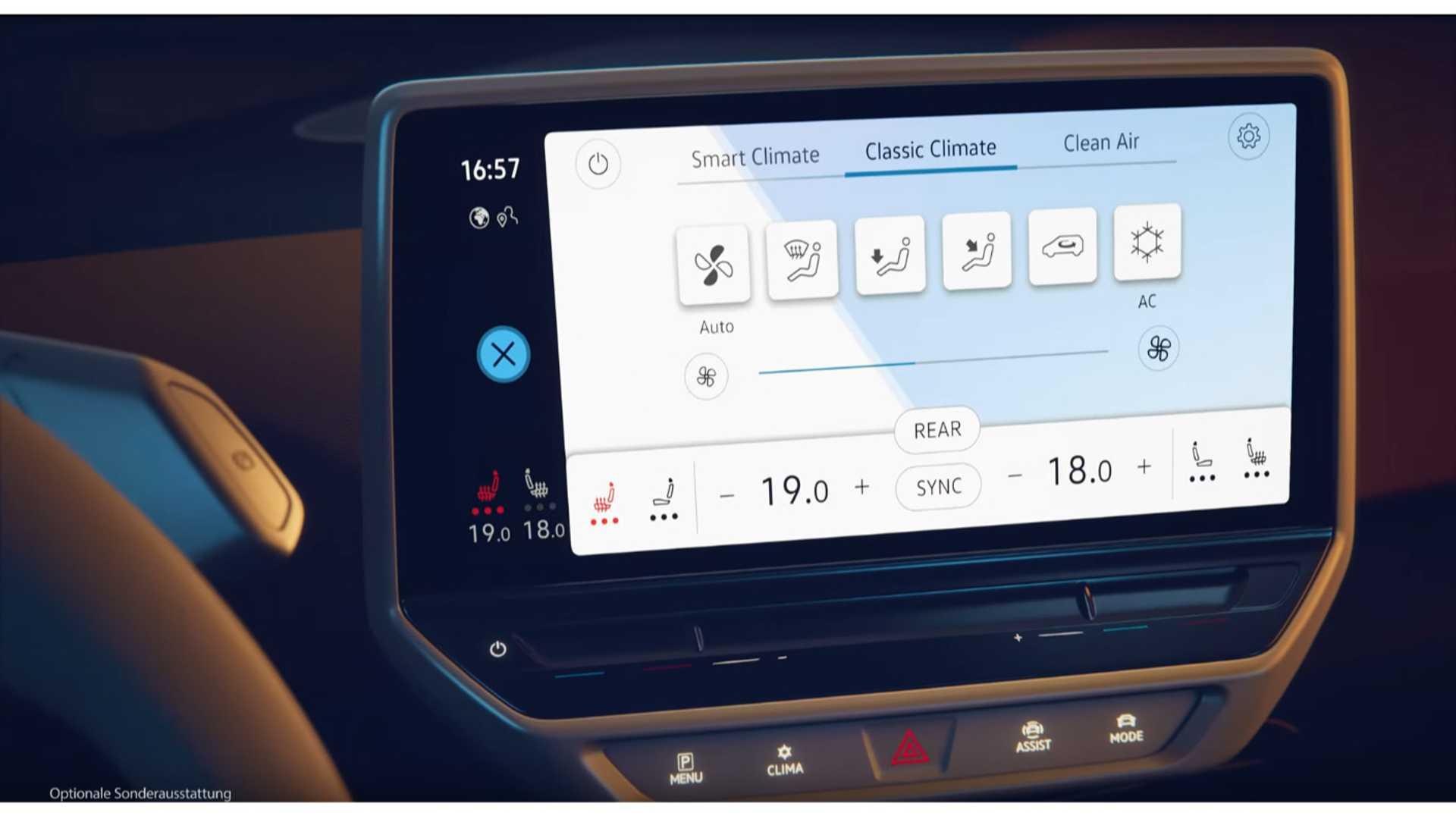Volkswagen ID.3 system inforozrywki