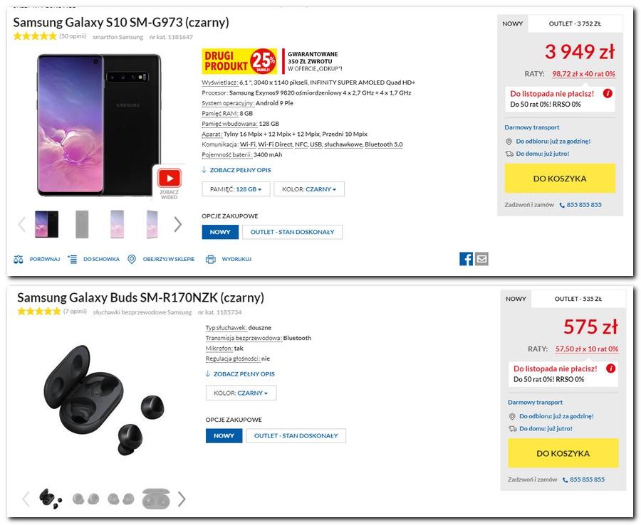 Promocja na urządzenia Samsung Galaxy - do smartfona smartwach