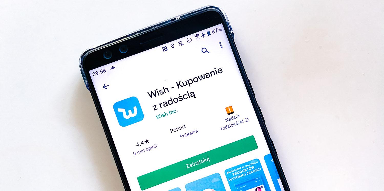 aplikacja wish
