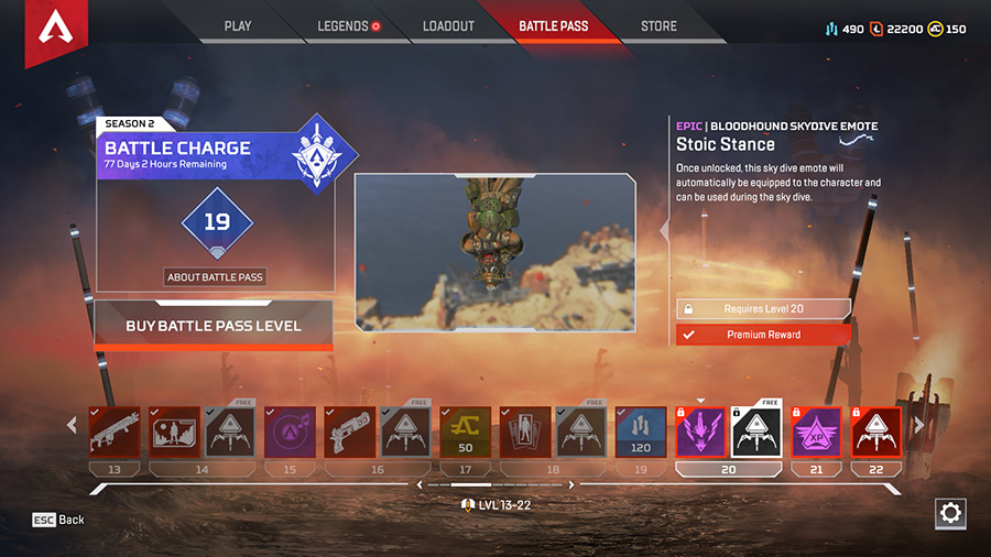 Apex Legends - Battle Pass