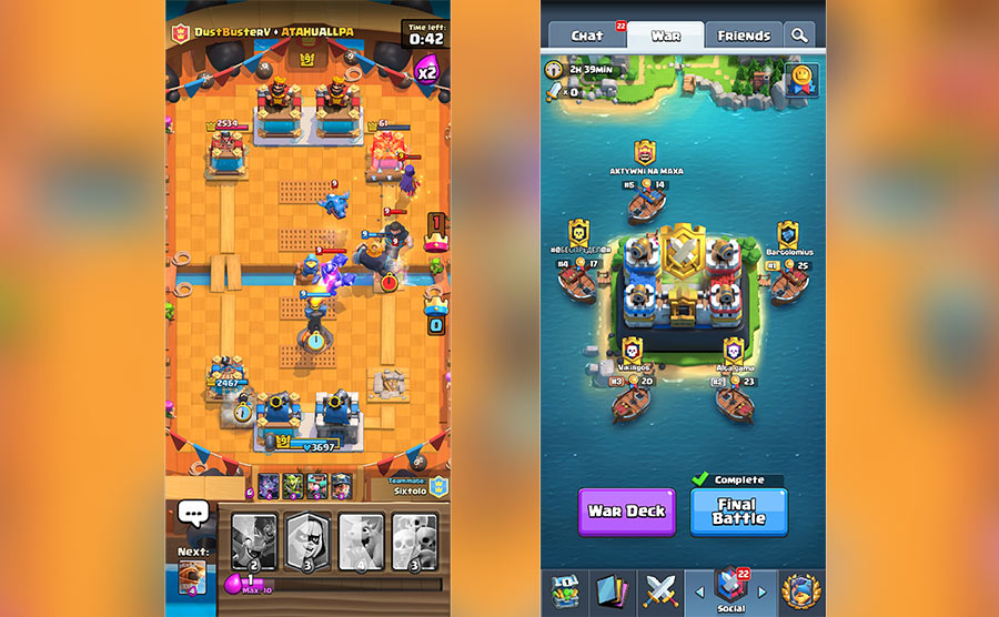 Clash Royale - Gameplay