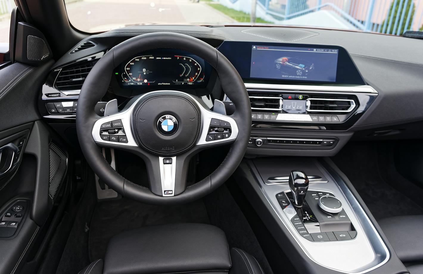 BMW Z4 M40i - kierownica
