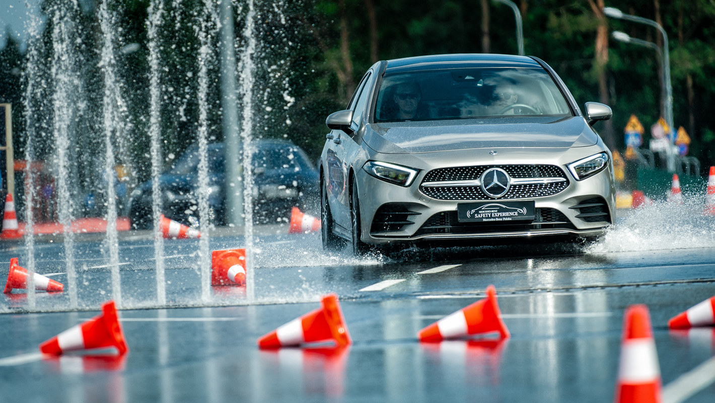 Mercedes Safety Experience