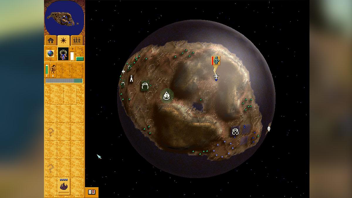 Populous 3: Mapa świata