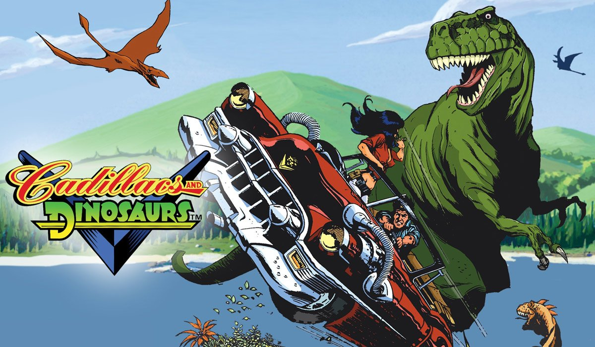 Cadillacs and Dinosaurs Serial