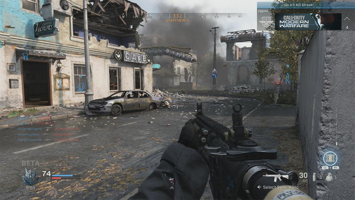 Call of Duty Modern Warfare - Gameplay