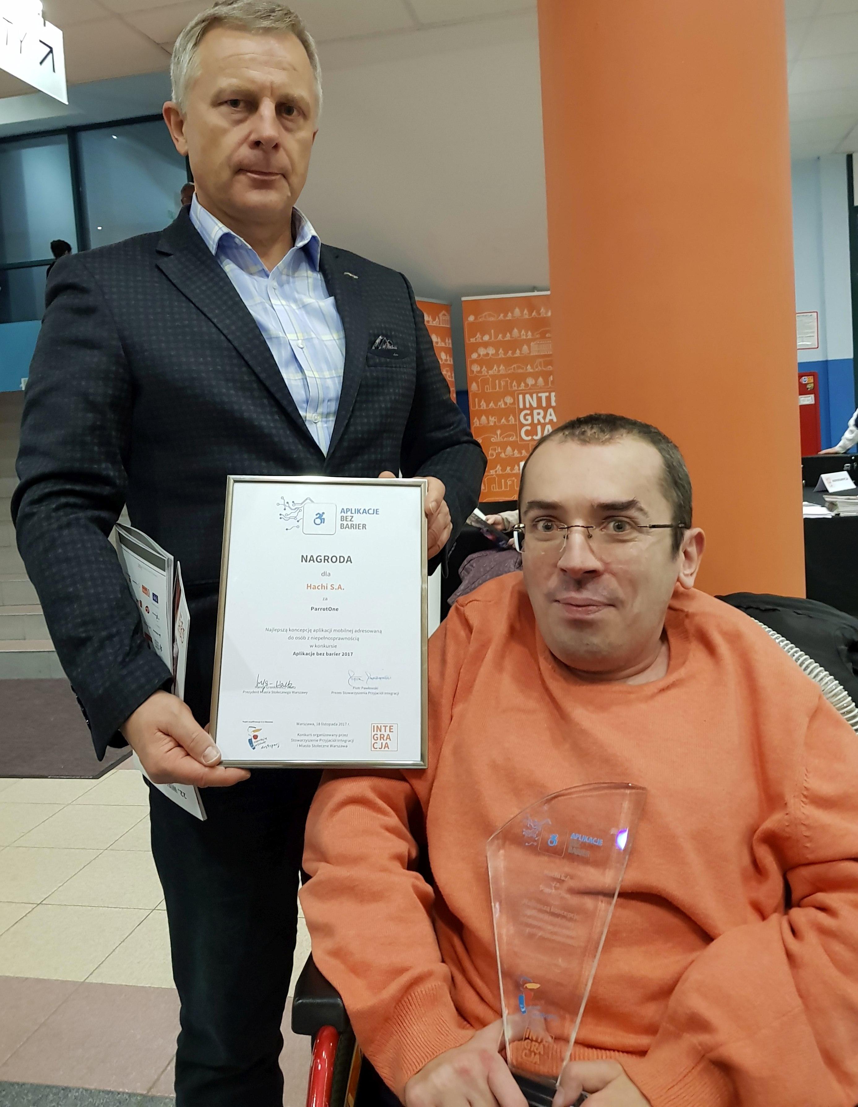 aplikacje dla niepełnosprawnych