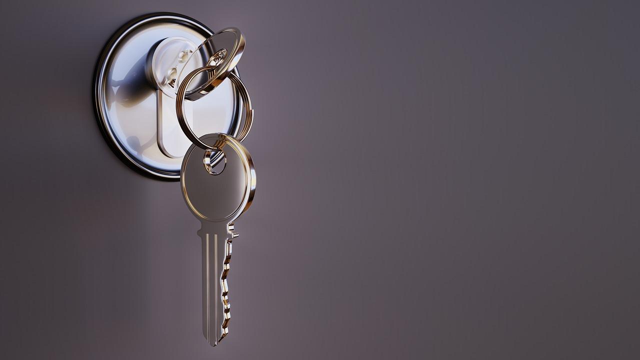 zamek klucze