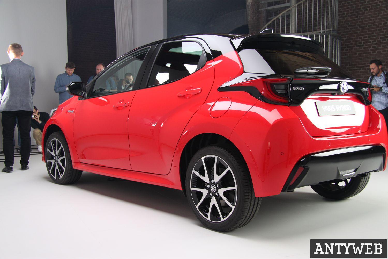 Toyota Yaris 2020 - tył