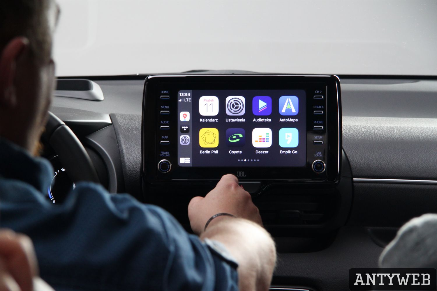 Toyota Yaris 2020 - Apple Car Play