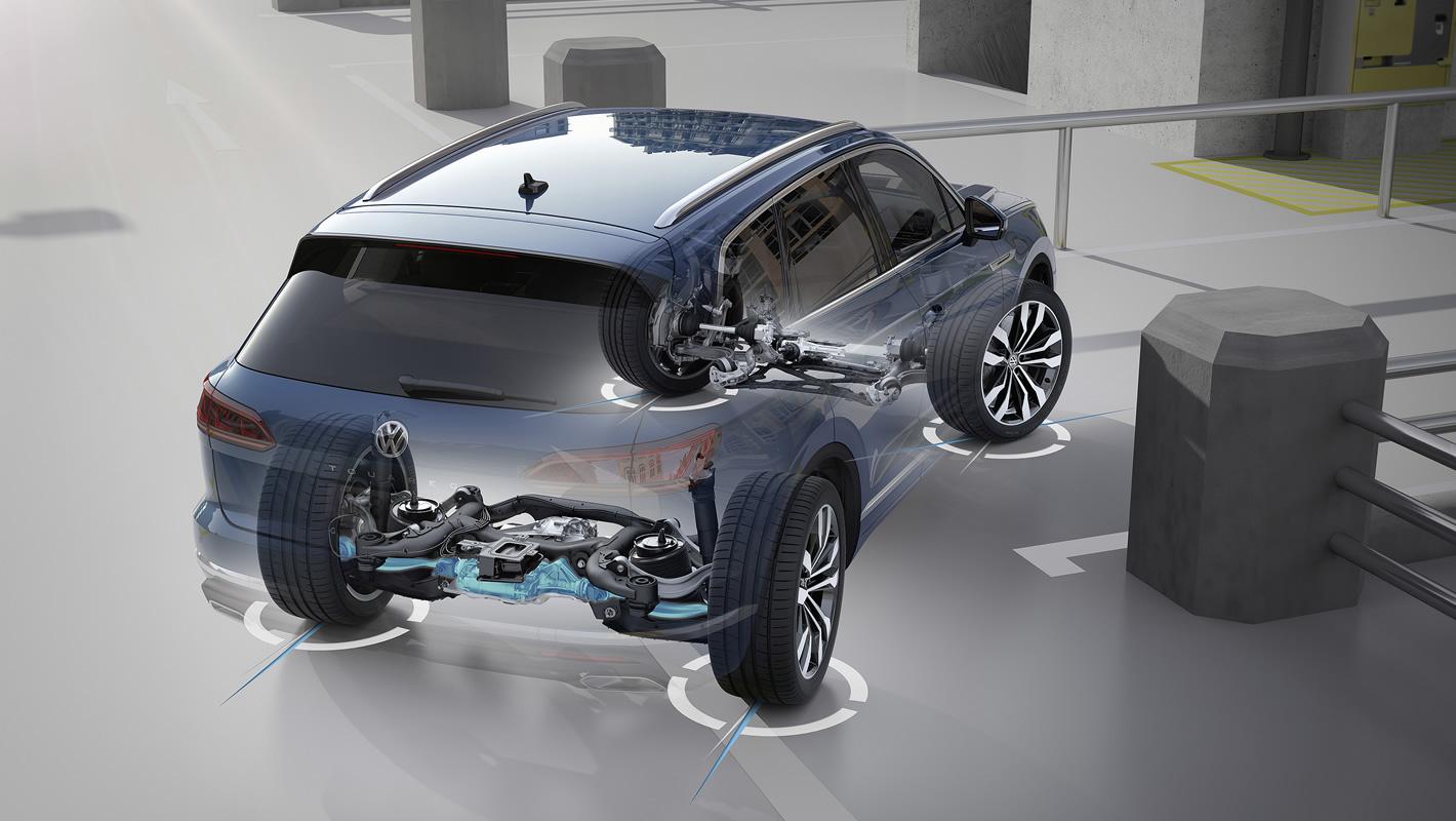 Nowy Volkswagen Touareg